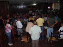 Alcalde Muñiz fue agredido por voceros del Consejo Comunal Todos Unidos y habitantes del Casco Central