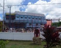 Instalaciones del Cuerpo de Bomberos en Upata