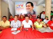 Este  primero de julio inicia campaña electoral en apoyo al candidato del Pueblo Hugo Chávez