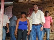 La Municipalidad continuará beneficiando  a los habitantes de Quebrada de Jua-Jua
