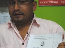 Rubén Garcías, director de Catastro de la Alcaldía de Piar invita a la cancelación de los impuestos sobre Inmuebles Urbanos.