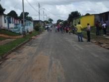 Calle Principal del sector Inavi fue asfaltada.