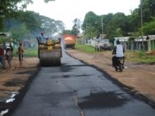 540 toneladas fueron aplicadas en la calle principal del sector Campanario de Upata.