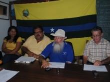 Representante del Instituto de Cultura de Piar ofrecieron una rueda de prensa.