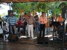 Músicos de Upata celebraron su día en un conocido club campestre.