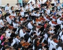 Talento Musical desbordado en el Parque Alejandro Otero de Upata