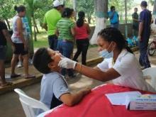 Los niños recibieron atención odontológica