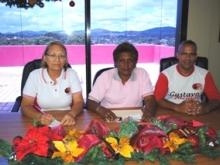 Los funcionarios informaron que en el 2011 se aporto mas desarrollo social para el pueblo de Piar.