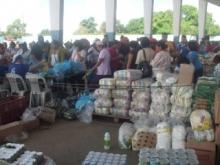 40 toneladas de alimentos expendió Mercal en la Feria