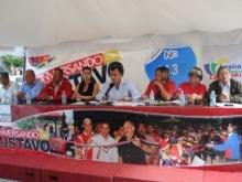 Alcalde Gustavo Muñiz rindió cuentas al pueblo