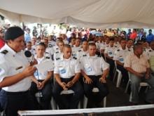 39 aspirantes de Piar se graduaran en abril del 2012 para ingresar a la policía comunitaria de la PEB.