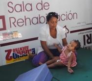 El SRI viene prestado un importante servicio de rehabilitación a los más pequeños de Upata.