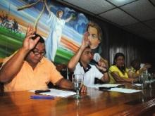 Presidente consejeros y concejales aprueban recursos