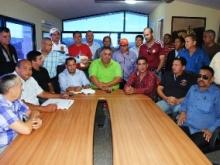 Empresarios y contratistas respaldan gestión de Gustavo Muñiz