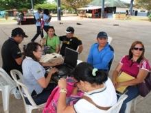 La jornada de recaudación se realiza en el parque Alejandro Otero en Bicentenario