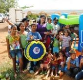 Primera Dama Zulny Bonalde compartió con los niños del sector rural  Los Rosos
