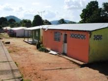 Familias beneficiadas en el sector de Sabanetica