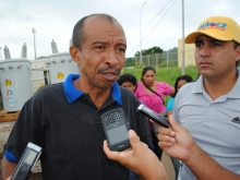 Jesús Sotillo habitante del sector La Caramuca