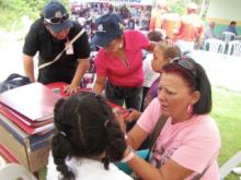 Fundación Social Piar animó a los más pequeños.
