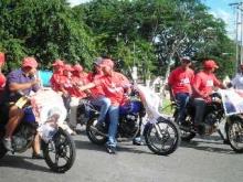 Habitantes de El Pao apoyan al candidato de la Patria