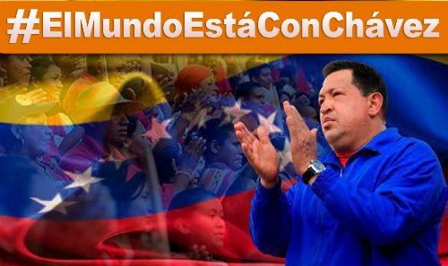#ElMundoEstàConChàvez