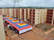 Construcción de edificios a través de la Misión Vivienda Venezuela