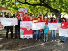 Punto Rojo Plaza Boívar de Upata