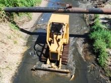 Continua limpieza en el Río Yocoima de Upata