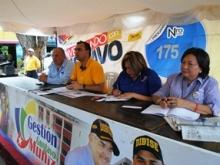 El alcalde Muñiz en el programa Conversando con  Gustavo