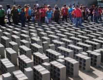18 mil bloques entregó el alcalde de Upata