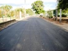 Llegó fiesta del asfalto en las calles del sector rural Boquerón en El Valle