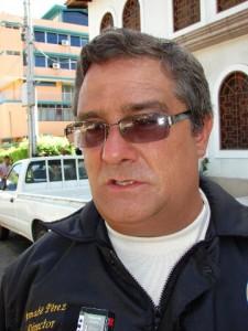 Bernabé Pérez, director de Seguridad Ciudadana de la Alcaldía de Piar