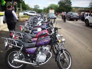 15 motocicletas fueron donadas por el Ministerio de Relaciones de Interior y Justicia