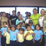 Niños de la U.E.N. Coviaguard visitan la Alcaldía de Piar