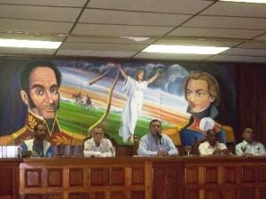 Alcalde Gustavo Muñiz, anuncia entrega de camión cisterna a la Parroquia El Pao