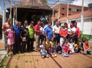 Ejecutivo Municipal junto al consejo directivo del instituto de cultura de piar