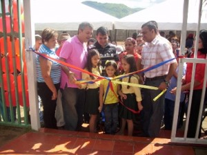 El alcalde de Piar inaugura nueva sede de la Orquesta Sinfónica Juvenil e Infantil de Upata.
