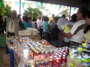 Mercal expendio alimentos en el sector San Lorenzo de Upata