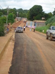 Alcaldía y Gobernación inició plan de asfaltado en La Caramuca