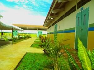 """Planta física de la nueva escuela """"Santo Domingo II"""""""