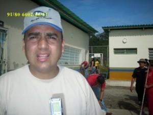 El alcalde Muñiz, destacó el trabajo comunitario realizado en el municipio Piar por el Psuv.