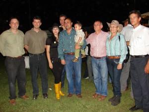 El alcalde Muñiz compartió con la delegación de Boa-Vista, Brasil.