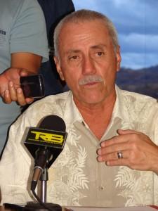 Teodardo Porras, secretario general de gobierno.