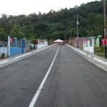 El alcalde Muñiz asfaltó otro barrio de Upata.