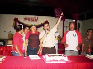 El Psuv celebra gestión de Gustavo Muñiz