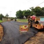 Planta de asfalto de la Gobernación favorece a barriadas de Upata.