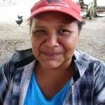 Janeth Gutiérrez vocera del Consejo Comunal de Panamo