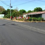 En Los Chorros arrancó el asfaltado