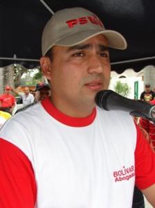 Alcalde de Piar Gustavo Muñiz