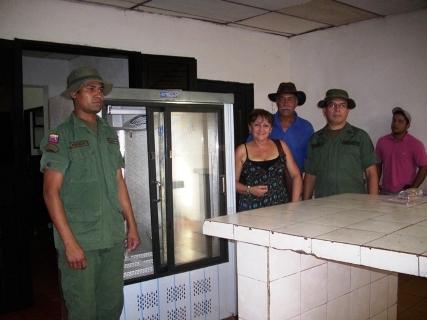 La 51 Brigada de Infantería de Selva recibe dotación de equipo de refrigeración